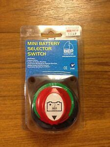 New Bep Mini Battery Selector Switch Boat Rib Outboard