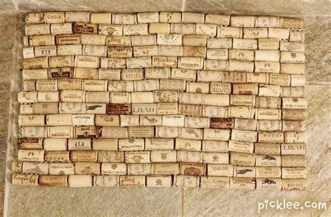 Wine Cork Doormat by Wine Cork Bath Mat Diy Tutorial Picklee