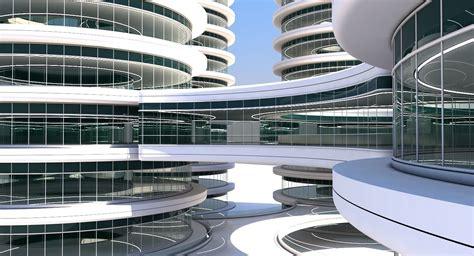 3D model Futuristic Building 101   CGTrader