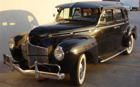 1940 Dodge  1940 Dodge Luxury Liner De Luxe Sedan 4door