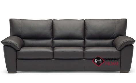 Trento (b632) Leather Sofa By Natuzzi Is Fully