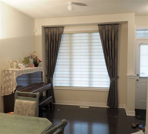 Window Blinds And Curtains by Blinds And Drapes Side Panel Combinations Trendy Blinds