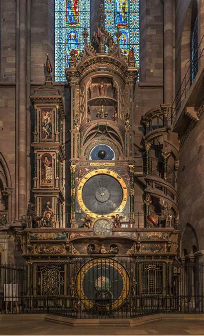 Clock Astronomical Strasbourg Cathedral Wikipedia