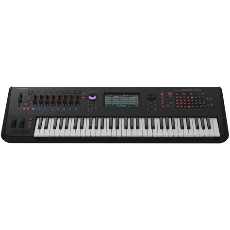 yamaha montage 6 synthesizer box opened at gear4music