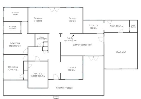 home plan ideas simple house floor plan with dimensions house design ideas