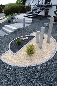 Vorgartengestaltung mit kies modern nowaday garden for Vorgartengestaltung mit kies