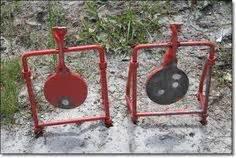 steel shooting targets plans homemade gun targets shooting targets pinterest shooting