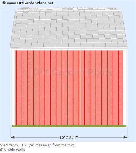 8x8 Shed Plans With Loft by Diy 8x8 Shed Plans Creatables Diy Hanike