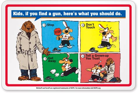 Shooting Range Gun Safety Signs