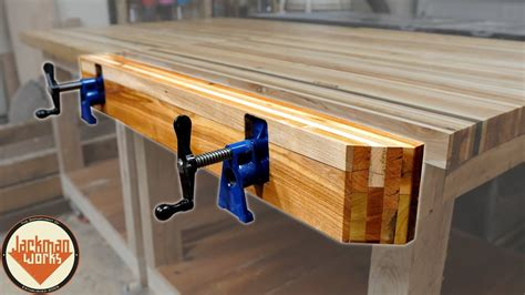pallet wood pipe clamp workbench vise youtube