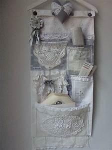 Vide Poche Mural : vide poche mural un air gustavien dentelles et linges ~ Melissatoandfro.com Idées de Décoration