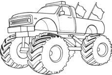 Gigantic Car Tire Coloring Pages : Best Place to Color