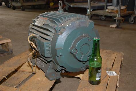 rebuilt reliance 10hp electric motor 2maf46317 frame 256ty