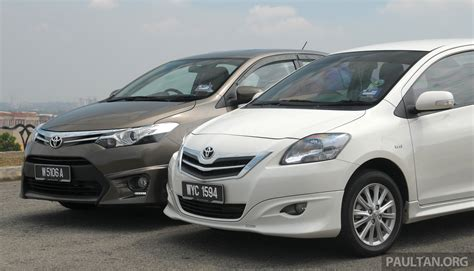 Toyota Vios Image by Gallery 2012 And 2013 Toyota Vios Side By Side Image 202928
