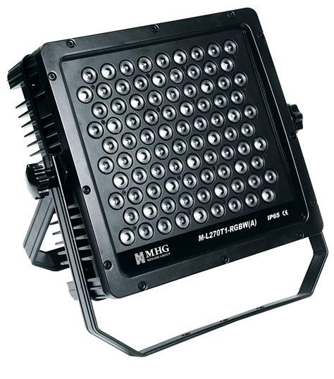projecteur ext 233 rieur puissant de led m l270t1 rgbw a projecteur ext 233 rieur puissant de led