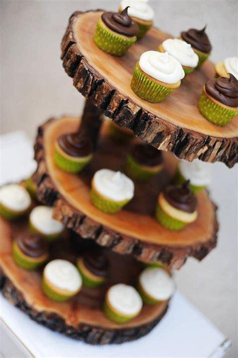 cute wooden cupcake stands ideas  pinterest wood