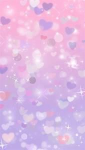 Glitter purple hearts cocoppa iphone wallpaper | Iphone ...