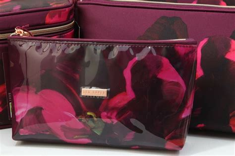 Ted Baker Vanity Bag - new ted baker small pvc make up bag cosmetic travel
