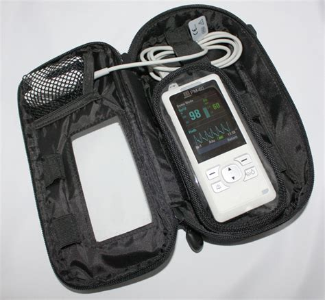 mindray pm  carry case    white medical