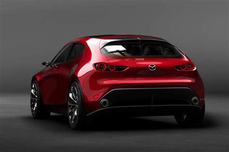 Mazda Kai Concept Previews Next-generation Mazda3 In Tokyo