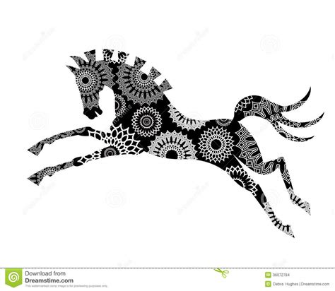 graphic horse stock images image