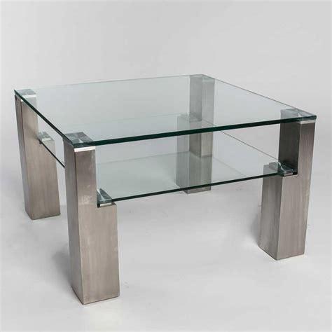 Genial Couchtisch Eiche Edelstahl Ideen by Moderner Couchtisch Glas Massivholz Quadratisch