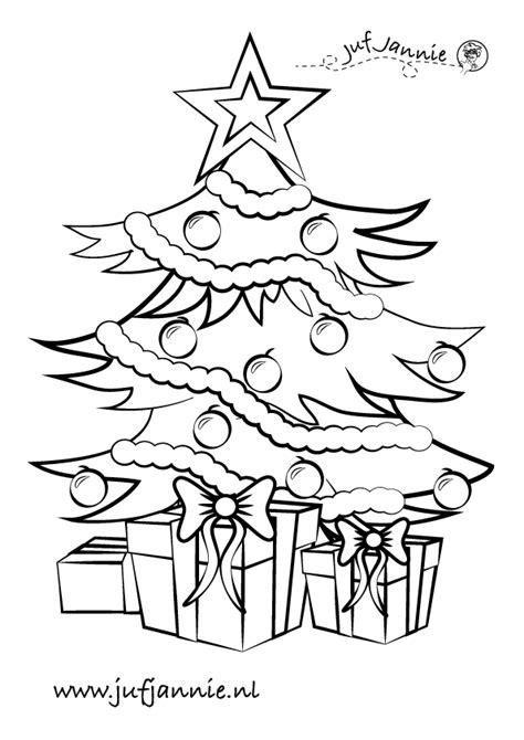 Kerststal Kleurplaat Peuters by Kerst Kleurplaten Juf Jannie Leren Met Kinderen