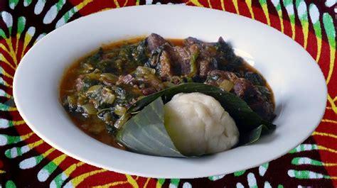recette de cuisine camerounaise gboma dessi la sauce aux épinards togolaise