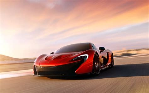 Red Mclaren P1 Stock Photos