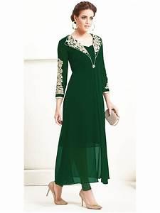 Sasya Bottle Green Designer Kurti Arihant-8026 Cilory com