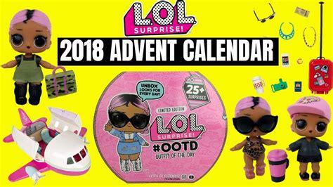 lol surprise  advent calendar  jet set cutie qt