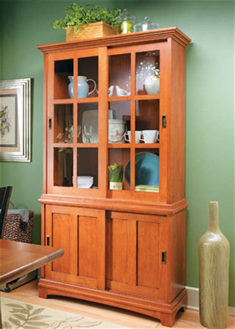 sliding door display cabinet woodsmith plans