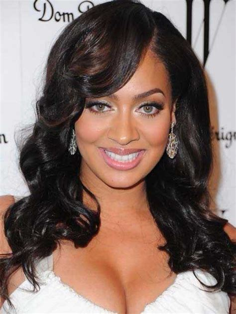 black women s weave hairstyles with bangs