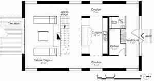 meilleur de plan maison 3 chambres ravizhcom With plan maison etage 3 chambres