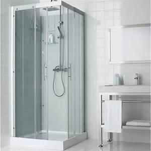 Cabine De Douche 90x90 : cabine de douche salle de bains au meilleur prix leroy ~ Dailycaller-alerts.com Idées de Décoration