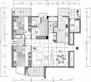 [平面图]室内设计平面图纸(3)