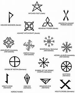 Odin Rune Tattoo Symbol - Odin was one of the primary gods ...