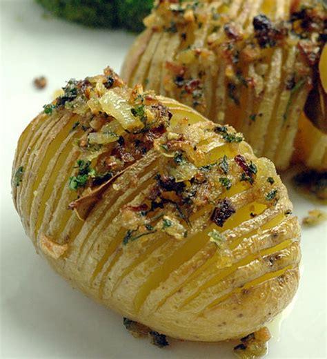 la cuisine des terroirs recettes recette hasselback potatis pommes de terre rôties suédoises