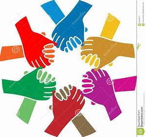Handshake team stock vector Image of handshake, color 39246477