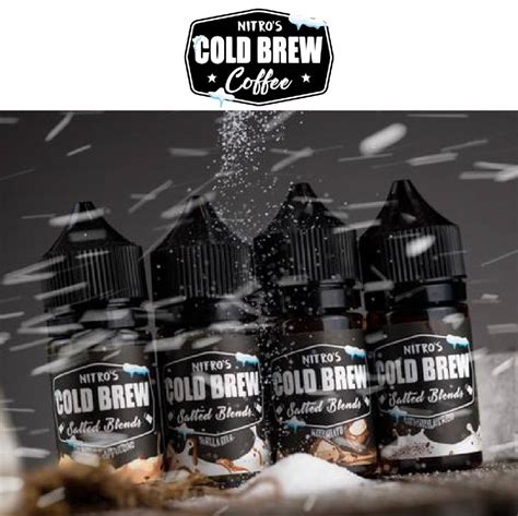 However, this recipe is not the usual one; 30ml SALT ICED COFFEE MILKSHAKE by NITRO'S COLD BREW VAPE ...