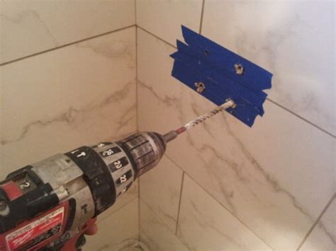 Drilling Small Holes In Porcelain Tile by How To Drill A Clean Through Tile Porcelain Clay
