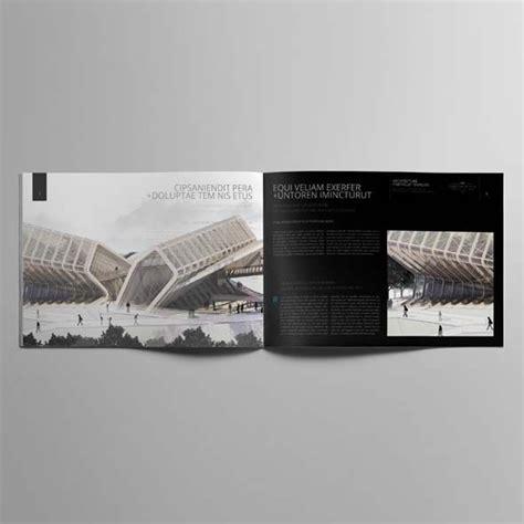 architecture portfolio  landscape template cmyk