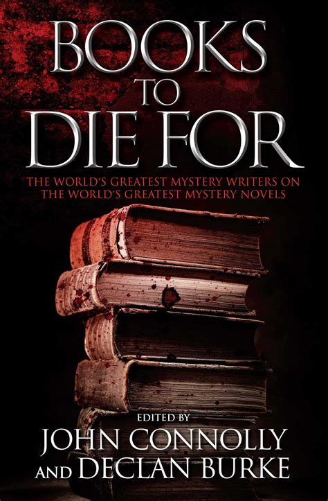 Books To Die For  Book By John Connolly, Declan Burke