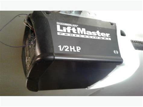 liftmaster garage door motor two liftmaster garage door motors outside