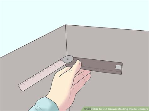 how to cut crown molding angles for kitchen cabinets how to cut crown molding inside corners 14 steps with 9891