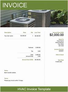easy invoice free download hvac invoice template free download send in minutes
