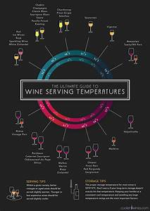 Infographic The Perfect Serving Temperature For Any Wine