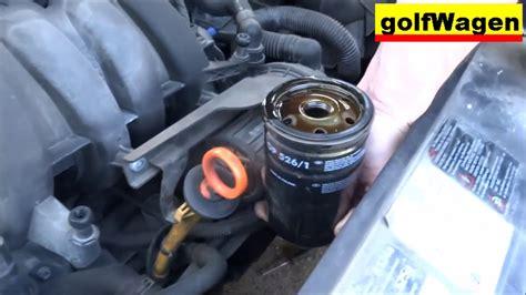 Skoda Octavia 1.6 Oil Change Oil Filter Change How To