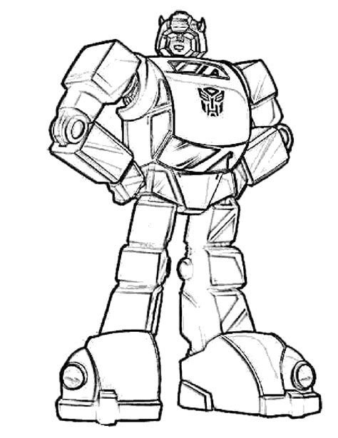transformers bumblebee coloring pages coloring home