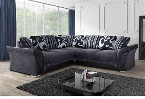 cheap living room sets 300 black grey fabric corner sofa sofa direct